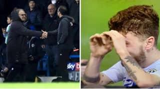 Leeds United's Mateusz Klich Does Binoculars Celebration After Win Over Derby
