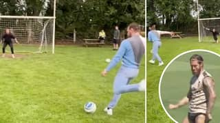 Sergio Ramos Responds To Conor McGregor Showing Off His Football Skills