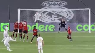 Sergio Ramos Scores Brilliant Free Kick To Add To Scoring Record