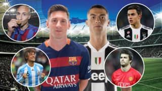 The 16 Lucky Players To Have Played With Cristiano Ronaldo And Lionel Messi