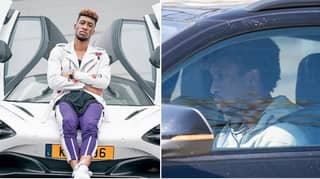 Bayern Munich Star Kingsley Coman Faces Hefty Fine For Driving McLaren And Not Company Audi Car