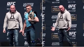 The Incredible Face-Off Between Jose Aldo And Conor McGregor Which Even Surprised Dana White