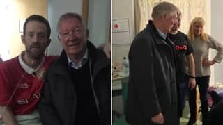 Sir Alex Ferguson Pays Surprise Visit To Terminally Ill Manchester United Fan