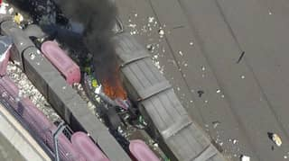 Russian Grand Prix Abandoned After Scary Crash Sees Two Cars Engulf Into Flames