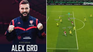 Arsenal List Esports Goal From Pro Evolution Soccer In February Goal Of The Month Nominations