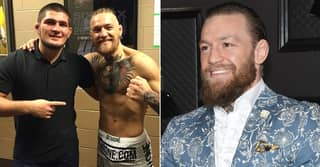 Conor McGregor Has Huge Dig At Khabib Nurmagomedov In 'Happy Retirement' Message