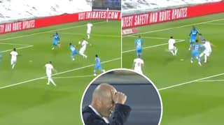 Karim Benzema Scores Incredible Volley For Real Madrid Against Valencia