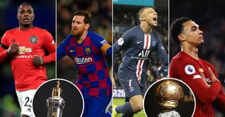 Who Wins The PFA, Ballon d'Or And Other Major Awards If Football Ended Now In 2020
