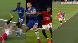 VAR Scores A Hat-Trick For Manchester United As Chelsea Fans Outraged With Decisions