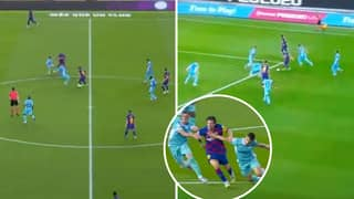 Lionel Messi Went On A Breathtaking Mazy Run In The Build Up To 699th Career Goal