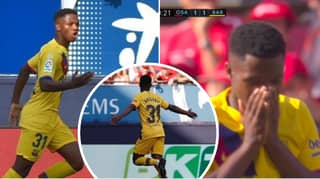 16-Year-Old Ansu Fati Becomes The Youngest Goalscorer EVER For Barcelona
