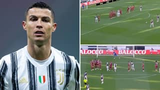 Cristiano Ronaldo Has Astonishingly Scored Only ONE Free-Kick In 72 Attempts For Juventus