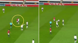 Fred Avoids Red Card After 'Headbutt' On Leandro Paredes During Man Utd Vs PSG