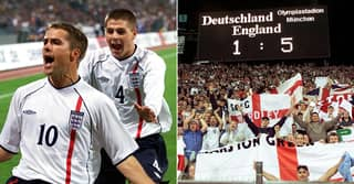 On This Day: Germany 1-5 England, The Three Lions' Greatest Ever Performance