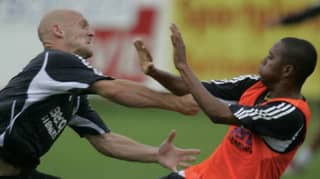 13 Years Ago, Thomas Gravesen Tried To Deck Robinho In Real Madrid Training Bust-Up
