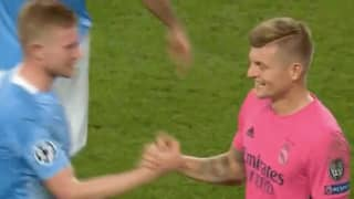 Manchester City Fans Noticed Toni Kroos Showing Respect To Kevin De Bruyne Last Night