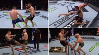 How Khabib Nurmagomedov Dealt With Leg Kicks Compared To Conor McGregor