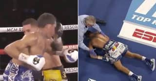 Oscar Valdez Delivers KO Of The Year As He Viciously Blasts Rival Unconscious