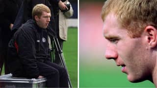 Paul Scholes Once Refused To Play In A Game And It Nearly Cost Him His Manchester United Career