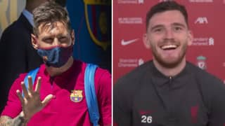Andy Robertson Asked How Many Goals Lionel Messi Would Score In The Premier League