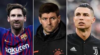 Steven Gerrard's Dream Five-A-Side Team Doesn't Include Cristiano Ronaldo