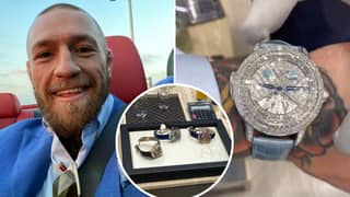 Conor McGregor's Brand-New £1.5m 'Rasputin' Watch Includes A Hilarious X-Rated Detail You Missed