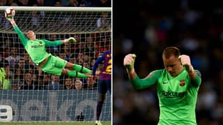Barcelona's Post Match Poll Sums Up Marc-Andre Ter Stegen's Ridiculous Performance