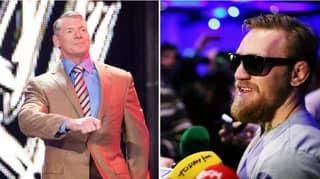 Conor McGregor Calls Out WWE CEO Vince McMahon