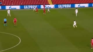 You May Have Missed Trent Alexander-Arnold's Outrageous Volley Pass To Andy Robertson