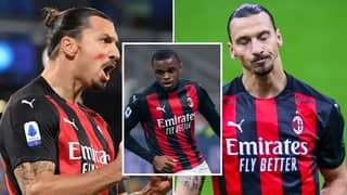 Zlatan Ibrahimovic Slammed A 20-Year-Old Defender For Wearing Gloves On His AC Milan Debut