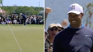 Tiger Woods Continues Comeback With Brilliant 71 Foot Putt