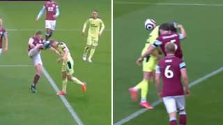 Newcastle United Denied Penalty Against Burnley Despite James Tarkowski High Foot
