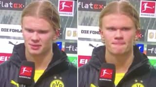 Erling Haaland Says 'I'm So P*ss*d' In Another Hilariously Bizarre Interview