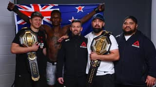 Israel Adesanya Gave His First-Class Seat To His Cornerman During The 15-Hour Flight Home From Abu Dhabi