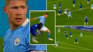 Kevin De Bruyne's Highlights As A Striker Vs Chelsea Prove He Is The Premier League's Complete Footballer