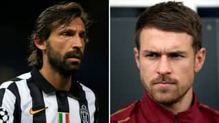 Andrea Pirlo Believes Aaron Ramsey Would Be A 'Great Buy' For Juventus