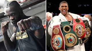Deontay Wilder Calls Out Anthony Joshua For Running Scared From A Unification Match