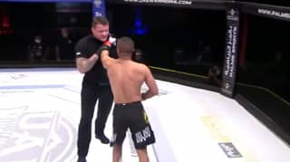 MMA Star Gets Disqualified After Trying To Fight The Referee