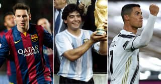 Messi, Ronaldo, Maradona: Top 50 Greatest Footballers Have Been Ranked