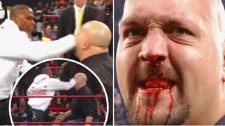 Remembering When Floyd Mayweather Genuinely Broke The Big Show's Nose During WWE Event