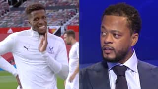 Patrice Evra Brings Up Wilfried Zaha's Alleged Affair With David Moyes' Daughter On Live TV