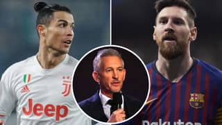 Gary Lineker Gives Refreshing New Take On Cristiano Ronaldo Vs Lionel Messi Debate