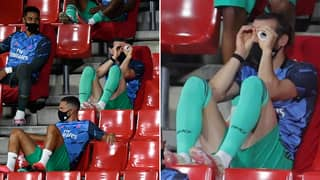 Gareth Bale Trolls Real Madrid Yet Again With Hilarious Antics On The Bench