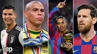 Ronaldo And Ronaldinho Finally Answer GOAT Debate Between Lionel Messi And Cristiano Ronaldo