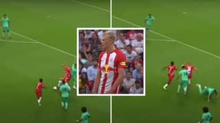 When Erling Haaland Sent Sergio Ramos Back To Sevilla In Their First Meeting