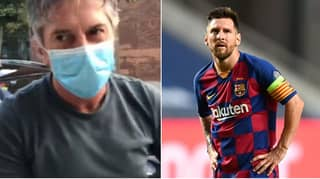 Lionel Messi's Father Speaks For The First Time After His Son Asks To Leave Barcelona