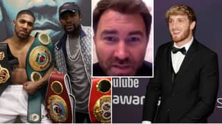 Eddie Hearn Savagely Mugs Off Logan Paul As He Reveals Conversation He Had With Floyd Mayweather