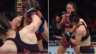 You Can See Joanna Jedrzejczyk's Hematoma Jiggle In New Super-Slow Motion Footage