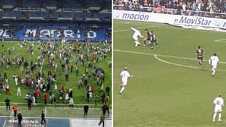 The Time Real Madrid Played A Six Minute Game At The Santiago Bernabeu