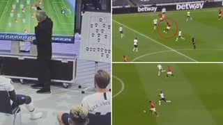 Footage Of Jose Mourinho Predicting How Paul Pogba Will Play Vs Spurs Is Fascinating To Watch